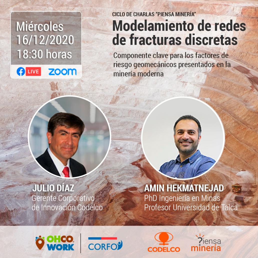 Primera charla de difusión concurso Piensa Minería de CODELCO